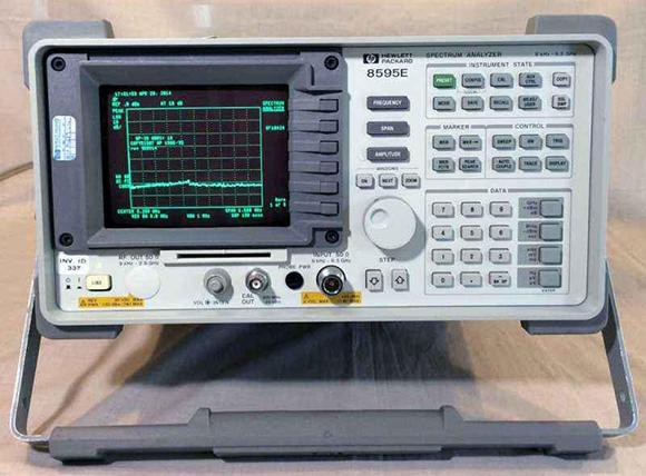 惠普hp8595E频谱分析仪