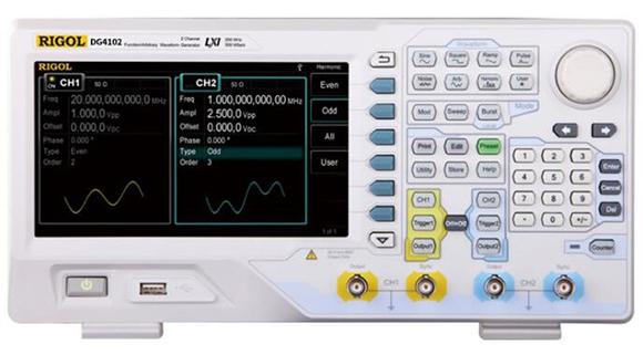RIGOL信号发生器DG4102