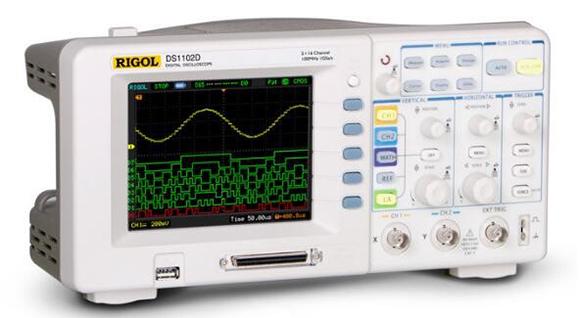 RIGOL示波器DS1102D